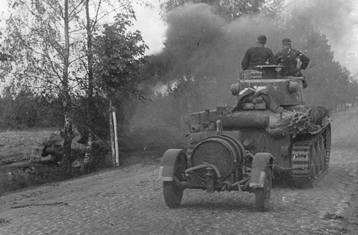 немецкие танки второй мировой топливо