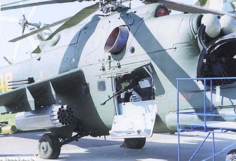 пулемёт КОРД на вертолёт.